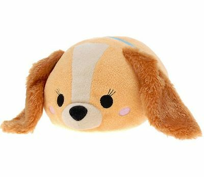 Disney Store Middle (M) Tsum Tsum Lady and the Tramp Lady Plush Doll