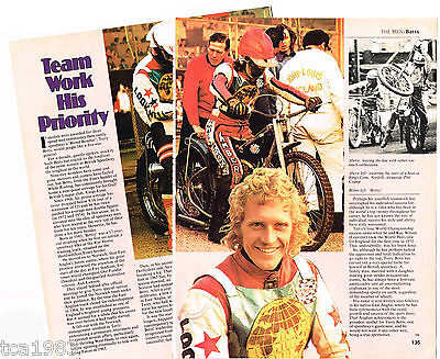vintage TERRY BETTS MOTORCYCLE Article / Photos / Pictures: BETTSY