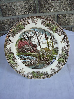 The Friendly Village by Johnson Bros. Collectible Plate. EXC COND