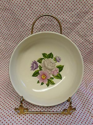 HOMER LAUGHLIN CAVALIER EGGSHELL COUPE CEREAL BOWL ~ Charity Auction!