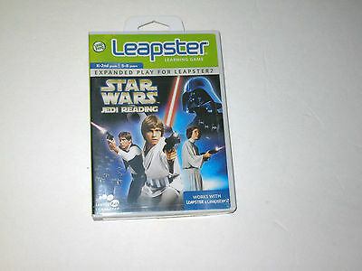 Star Wars Jedi Reading Leapster Learning Game Expanded Play for Leapster 2 New