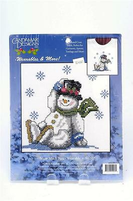 2001 Candamar Designs Wearables & More Snow Much Fun Counted Cross Stitch 51247