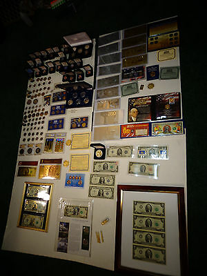 HUGE ESTATE AUCTION -2 -*USA SILVER &OLD RARE COINS &USA RARE BILLS,,PROOF SETS