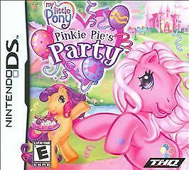 NINTENDO DS GAME MY LITTLE PONY PINKY PIE'S PARTY NEW