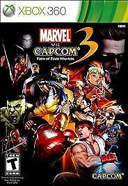 Marvel vs. Capcom 3 Fate of Two 2 Worlds GAME Microsoft Xbox 360