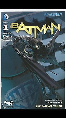 Batman #1 New 52 WB Warner Brothers VIP Studio Tour Exclusive Variant Cover 1 NM