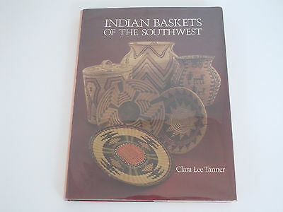 NAVAJO  UTES PIMAS INDIAN BASKETS OF THE SOUTHWEST RARE OUT OF PRINT BOOK