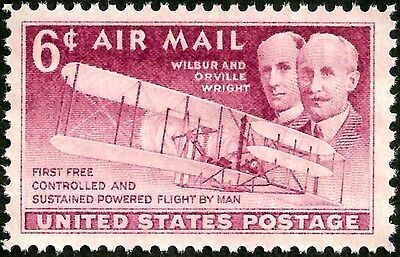 sc#C45 old US/usa airmail stamp wright brothers mint og nh mnh xf gem