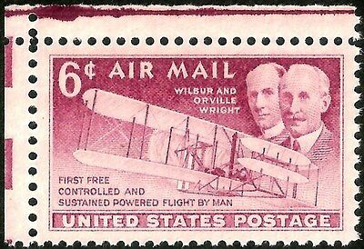 sc#C45 old US/usa airmail stamp wright brothers mint og nh mnh xf jumbo gem