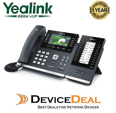 Yealink SIP-T46G + EXP40 Expansion Module 20 Buttons Combo Package