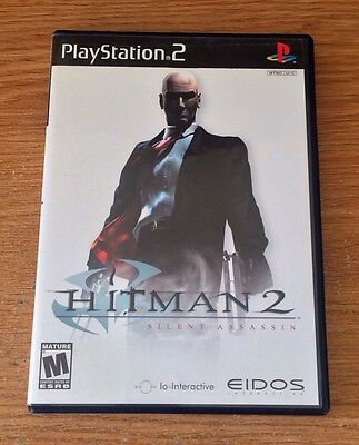 Hitman 2: Silent Assassin Sony PlayStation 2 Game Fun PS2 Games