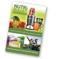 Nutribullet Recipe Book - Soft Cover Paper Back Printed Book - Brand New