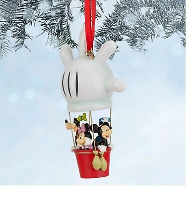 Disney Mickey Mouse Clubhouse Balloon Christmas Ornament Donald Goofy Minnie NEW