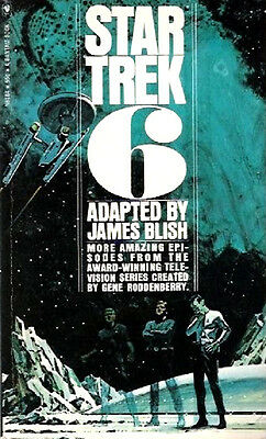 Star Trek No. 6 by James Blish (1972, Paperback) **Very Good