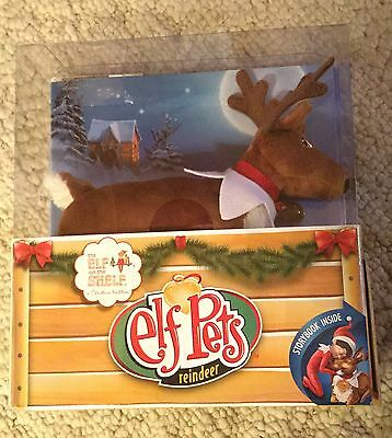NIB The Elf on the Shelf A Christmas Tradition Elf Pets Reindeer Book Included