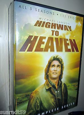 Highway to Heaven Complete Series Season 1-5 (1 2 3 4 5) ~ NEW. FREE SHIPPING