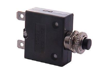 Techna T16 Thermal Circuit Breaker - Panel Mounted - Push-to-Reset - 5-35 amps