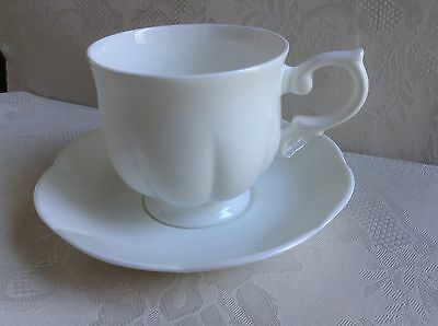 WINDSOR BONE.... BY BLOCK ... CUP and SAUCER