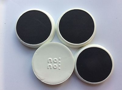 Lot of 4 ~ NoNo Hair Removal Buffer Refills -Large Size