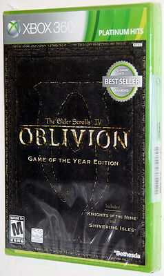 The Elder Scrolls IV Oblivion Game of the Year - XBOX 360 - NEW & SEALED