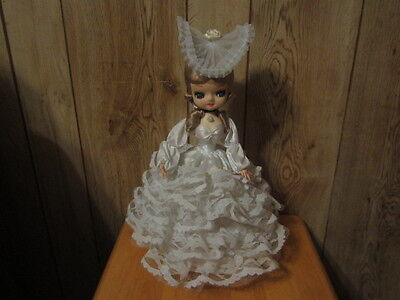 Vintage Hand-Crafted Paper Mache Doll
