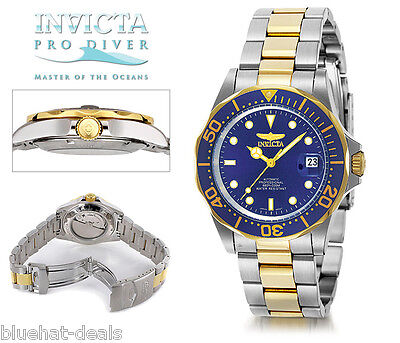 Invicta Men's Pro Diver Collection Automatic Coin Bezel Watch 8928 NEW