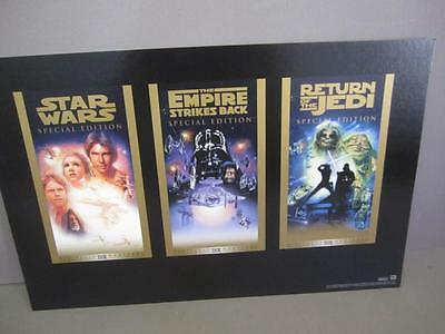 E2 1997 Star Wars Trilogy Movie Promo Poster