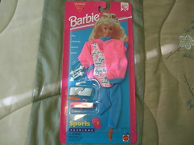Barbie Doll Sports Fashions Workout Gear Outfit New NIP