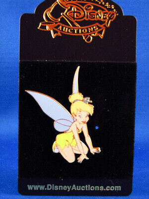 Tinker Bell Pin Disney Auction Limited Edition New on Card  a
