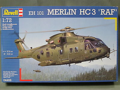 Revell 04468 1/72 EH 101 Merlin HC3 RAF Helicopter sealed box