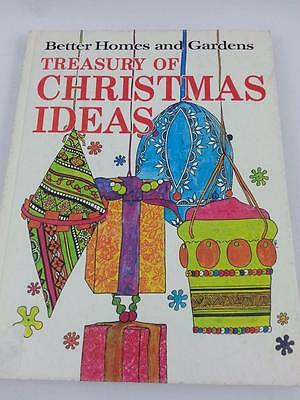 Better HOmes Gardens BHG hardback Treasury of Christmas Ideas crafts ornaments