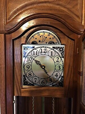 Grandfather Clock -American made- Heirloom quality- chiming- Junior Grandfather