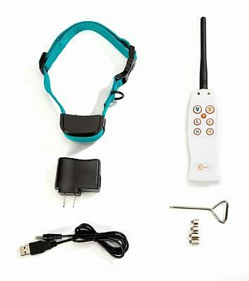 Remote Dog Pet Training Static Shock and Vibration Collar w/ Rechargeable Receiv