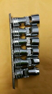 Snap-on 206FSUM  3/8 Drive 6-Point Universal socket set 10,12,13,14,15 and 17mm