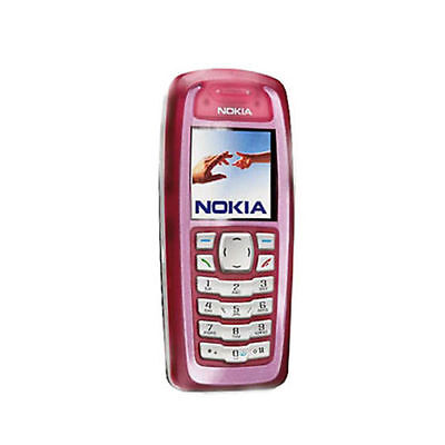 NOKIA 3100 Red UNLOCKED GSM Triband REFURBISHED Mobile phone
