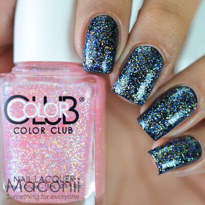 COLOR CLUB - Hot Couture - Iridescent Sheer Pink Glitter Shimmer ...