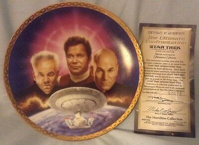 Star Trek Generations The Ultimate Confrontation Hamilton Collection