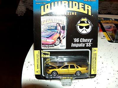 LowRider Magazine Issue #146 1996 Impala SS 1/64 diecast by Revell