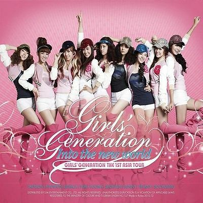 SNSD Girls' Generation The 1st Asia Tour 2CD Mini Album CD K-POP Sealed