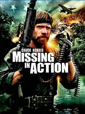 BRAND NEW DVD // Missing in Action //  Chuck Norris