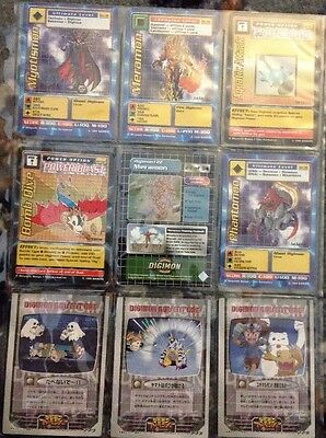9 Assorted Digimon Cards