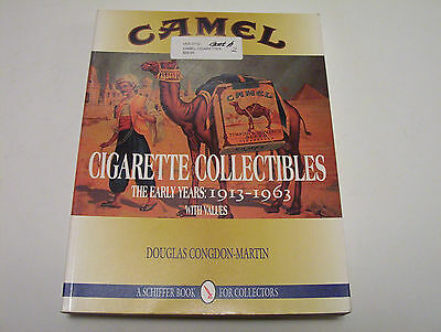 VINTAGE CAMEL CIGARETTE COLLECTIBLES BOOK EARLY YEARS 1913 - 1963 SCHIFFER BOOK