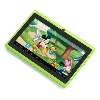 """Green 7"""" Google Android 4.2 Tablet PC MID for Kids Children 1.0GHz US Shipping"""