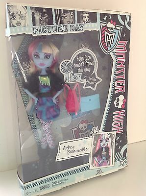 Monster High Abbey Bominable Picture Day Doll In Box