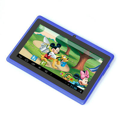 """Blue 7"""" Google Android4.2 Tablet PC MID for Kids Children Dual Core US Shipping"""