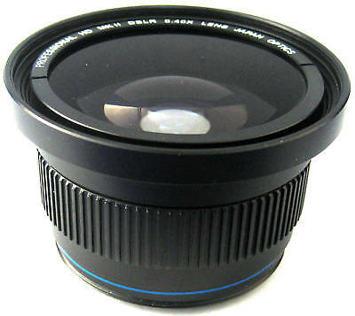 Hi Def Super Wide Fisheye Lens for Canon EOS Rebel T1i T2i T3 T3i T4i T5i T5 SL1