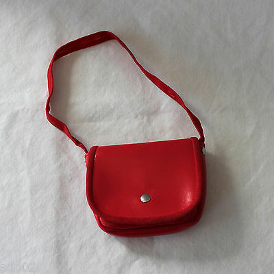 AMERICAN GIRL Retired MOLLY SHOULDER BAG Red Purse from Accessories EUC