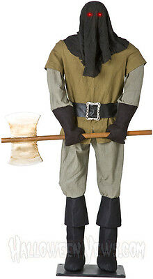 EXECUTIONER ANIMATED LIFE SIZE PROP SOLD OUT!!!  HARD TO FIND!!!