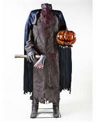 HEADLESS HORSEMAN LIFE SIZE ANIMATED PROP HARD TO FIND!!!  SOLD OUT!!!
