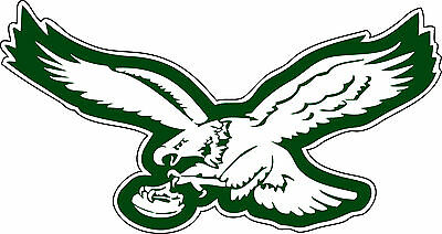 PHILADELPHIA EAGLES Logo ~ Window WALL DECAL * Vinyl Car STICKER ~ ANY COLORS